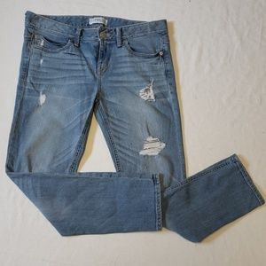 Express Modern Boyfriend Relaxed Fit Jeans